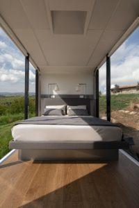 Defender Eco Home Land Rover Italia Airbnb casa mobile viaggi avventura
