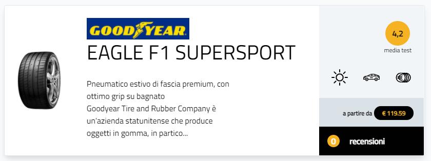 test Potenza Sport Pilot Sport 4 4S Eagle F1 Asymmetric 5 P zero