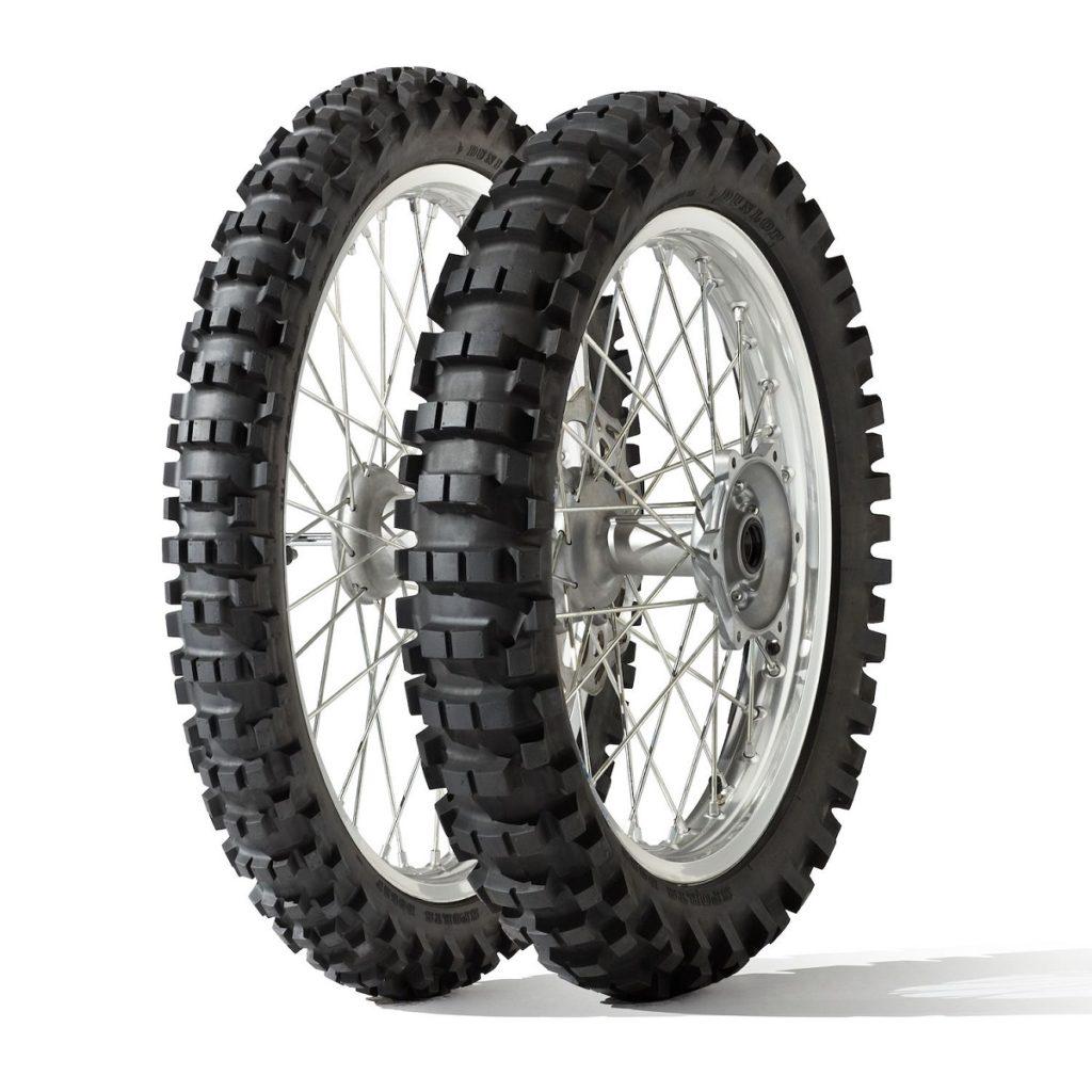 gomme enduro Nuove specifiche per la gamma off-road di Dunlop pneumatici fuori strada Dunlop D952 D908 RR D908 marcatura m+s