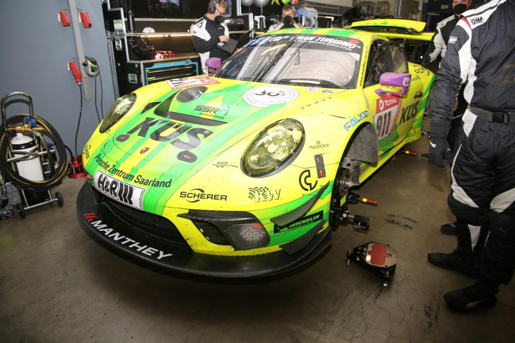 Michelin 24 ore di Nürburgring Porsche 911 GT3 R Manthey Racing