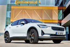 pneumatici continental veicoli elettrici ecocontact 6 auto elettriche