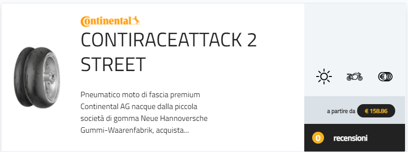 ContiSportAttack4 vs ContiRaceAttack 2 Street gomme stradali sportive