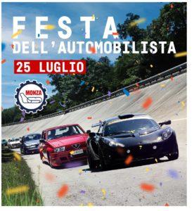 Festa dell'Automobilista Domenica 25 luglio pista Monza track day turni
