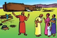 Noah and the Flood (Picture 6: Noah's Ark)