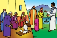 Lishango 14 (Picture 14: Jesus the Teacher)