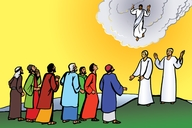 Picture 20: The Ascension ▪ Picture 21: The Empty Cross ▪ Picture 22: The Two Roads ▪ Picture 23: God's Children ▪ Picture 24: Born Again ▪ Picture 25: The Holy Spirit Comes ▪ Picture 26: Walking in the Light ▪ Picture 27: A New Person ▪ Picture 28: The Christian Family ▪ Picture 29: Love Your Enemies ▪ Picture 30: Jesus is the Powerful One ▪ Picture 31: Casting out Evil Spirits ▪ Picture 32: Temptation ▪ Picture 33: If We Sin ▪ Picture 34: Sickness ▪ Picture 35: Death ▪ Picture 36: The Body of Christ ▪ Picture 37: Meeting for Worship ▪ Picture 38: Jesus Will Return ▪ Picture 39: Bearing Fruit ▪ Picture 40: Witnessing