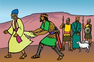 Picture 11 God Rejects Saul as King