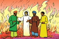 Ɛlaba faya os (Picture 16. The Furnace of Fire)