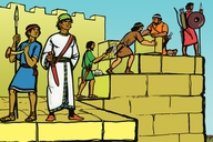 Ohumbaha Evidaa (Picture 21. Building the Walls)