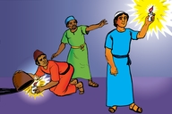 Picture 3: A Light Should be Seen; - Matthew 5: 14-16