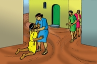 Picture 9: The Unforgiving Servant; - Matthew 18: 21-35