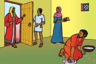 Gambar Dua Puluh Tiga (Picture 23. The House Owner Comes Home)