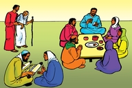 Picture 4: The Church Family; - Acts 2:42-47