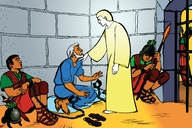 Picture 11: Peter in Prison; - Acts 12:1-4