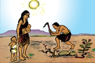 Adama Ne Eva Aha Ba Tandiwa Muwa (Picture 4. Adam and Eve Cast Out)