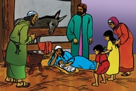 Picture 4. The Birth of Jesus