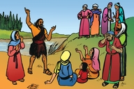 Picture 15. The Message of John the Baptist
