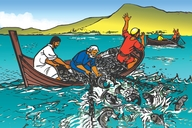 Zo Chi Boozi Cho Nswi (Picture 23. The Great Catch of Fish)