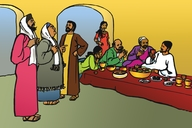 Picture 29. Jesus at Matthew's Feast