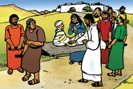 Picture 39. Jesus Raises a Widow's Son ▪ Song: Our Father