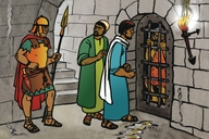 Joani Mubombeki Muntolongo (Picture 40. John the Baptist in Prison)