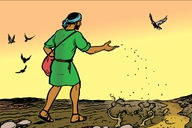 Enguli Yo Mulimi (Picture 42. The Parable of the Sower)