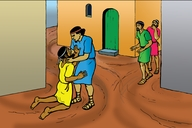 Enguli Yo Mwika Ozhu Ta Kwatili (Picture 63. Parable of the Unforgiving Servant)