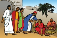 Picture 86. A Blind Beggar Healed at Jericho ▪ Song: This is not our home