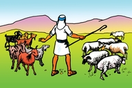 Picture 96. Parable of the Sheep and the Goats