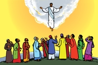 Jesu Aha Boola Kuwilu (Picture 118. Jesus Ascends into Heaven)