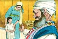 1 Samuel 1:24-25,28