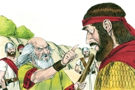 1 Samuel 15:1-4, 7-23, 27-29, 34-35