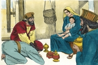 Wise Men go to See Jesus, Matthew 2:1-12