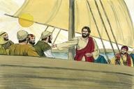 104. Jesus Heals a Paralytic, Matthew 9:1-8