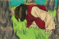 142.01. Jesus in Gethsemane Matthew 26:36-46