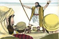 Saun Marcos 1:1 ♦ Saun Marcos 1:2 (Saya Mau Ikut Yesus ▪ Mark 1:1 ▪ Mark 1:2)
