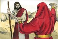 Saun Marcos 1:12 (Mark 1:12)