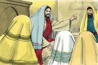 Saun Marcos 12:35 (Mark 12:35)