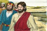 Saun Marcos 1:16 (Mark 1:16)