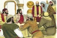 Saun Marcos 1:40 (Mark 1:40)