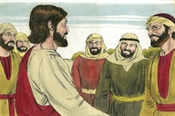 Saun Marcos 3:20 (Mark 3:20)