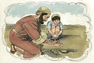Saun Marcos 4:30 (Mark 4:30)