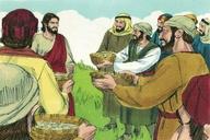 Saun Marcos 8:1 (Mark 8:1)