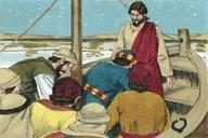 Saun Marcos 8:14 (Mark 8:14)