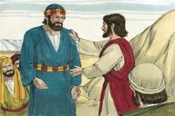 Saun Marcos 8:27 (Mark 8:27)