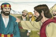 Saun Marcos 8:31 (Mark 8:31)