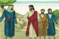 Saun Marcos 9:33 (Mark 9:33)
