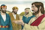 Saun Marcos 9:30 (Mark 9:30)