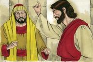 Saun Marcos 10:17 (Mark 10:17)