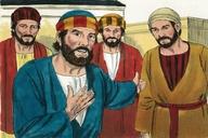 Saun Marcos 10:35 (Mark 10:35)